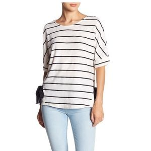 Everleigh Striped Short Sleeve Shirt - XL